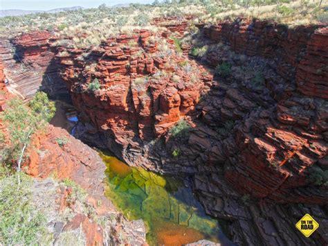 iron cliffs  canyons karijini national park