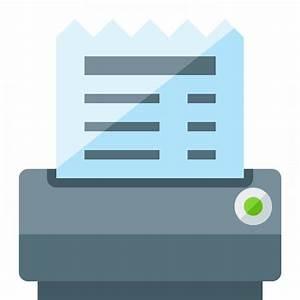 IconExperience » G-Collection » Receipt Printer Icon