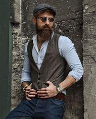Men Hipster Style Beard