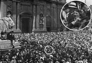 adolf image at start of wwi could be a daily mail
