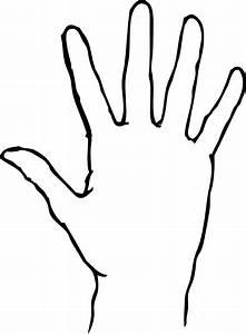 Blank Hand Clip Art at Clker.com - vector clip art online ...