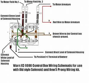 Warn Xd9000 Wiring Diagram
