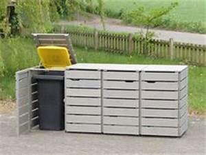 Mülltonnenbox Holz Anthrazit : m lltonnenverkleidung holz anthrazit grau m lltonnenbox ~ Whattoseeinmadrid.com Haus und Dekorationen