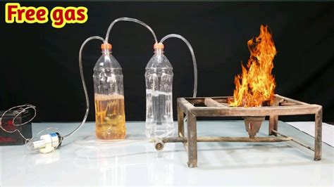 How to make Free Lpg gas at home | petrol and Water ...