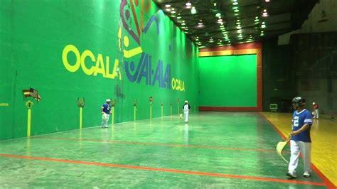 Ocala Amateur Jai Alai tournament highlights 09 22 14 ...