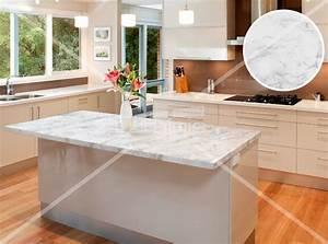 Plan De Travail Cuisine Marbre : plan de travail en marbre blanc sofag ~ Melissatoandfro.com Idées de Décoration