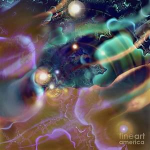 Planetary Orbits Digital Art by Ursula Freer