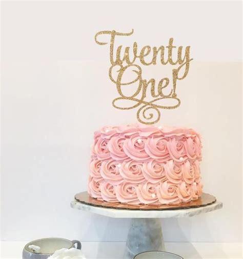twenty  st birthday custom cake topper  party