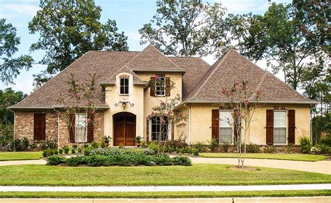 French Country House Plan With Bonus Room