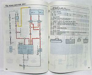 1994 Toyota Paseo Electrical Wiring Diagram Manual Us  U0026 Canada