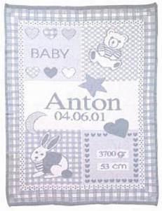 Babydecke Mit Namen Und Geburtsdatum : babydecke mit namen und geburtsdatum ikast etikett ~ Buech-reservation.com Haus und Dekorationen