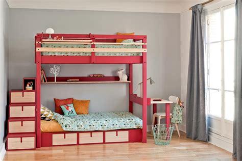lit superposé avec bureau intégré conforama chambre domozoom com