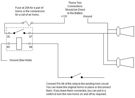 fiamm horn wiring diagram 25 wiring diagram images