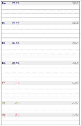 heyers kalender studio wochenkalender heyers druck