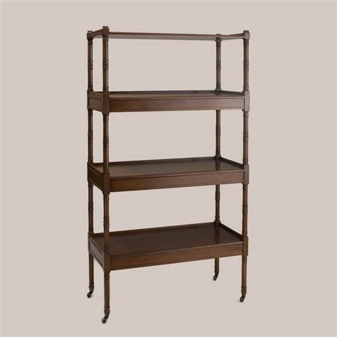 Etagere Wood by 6108 Wood Etagere Paul Ferrante
