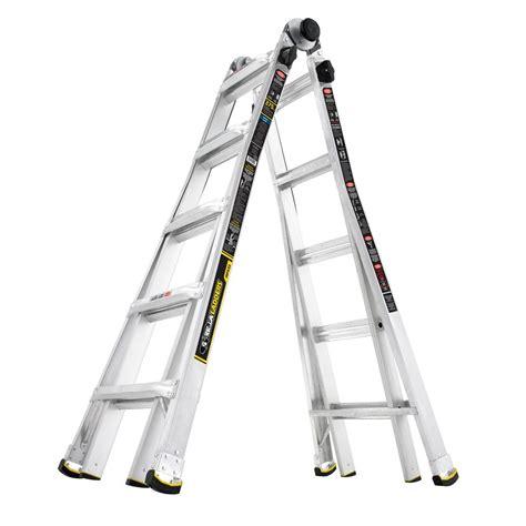 Gorilla Ladders 22 Ft Reach Mpx Aluminum Multiposition