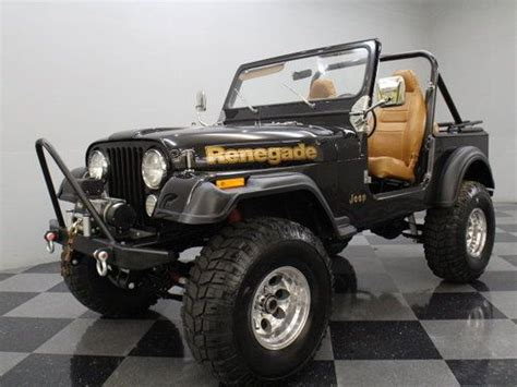 brown jeep renegade find used 4 2l inline six 4 speed manual 4 inch lift