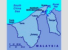 ABC Maps of Brunei; Flag, Map, Economy, Geography, Climate