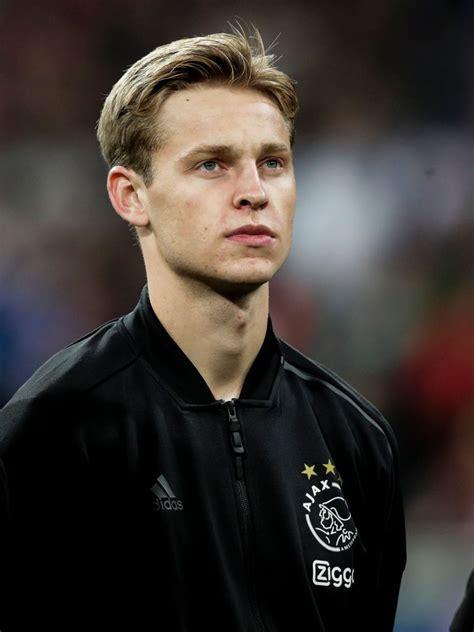 MADRID, SPAIN - MARCH 5: Frenkie de Jong of Ajax during ...
