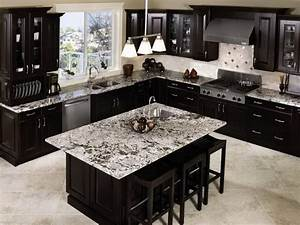 Dark Brown Kitchen Cabinets Small — Zachary Horne Homes