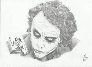 Joker pencil art. by dawned55 on DeviantArt