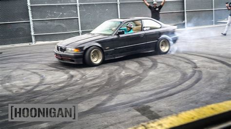 How To Drift Fwd by Hoonigan Dt 056 Kikawa Does Donuts 350 Bmw E36