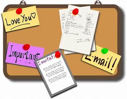 Clipart Board Notice Bulletin Clip Clipground Discussion