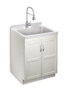 glacier bay deluxe all in one laundry cabinet the home