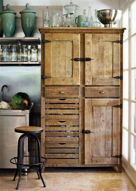 muebles de madera  cocina disenos rusticos modernos