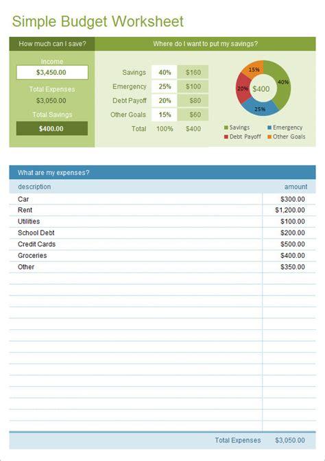sle budget 11 exle format