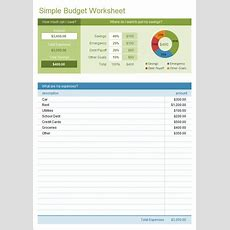 Sample Budget  11+ Example, Format