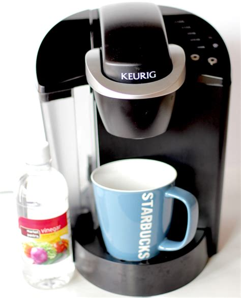 Mom Tip How To Clean Your Keurig Coffee Maker With Vinegar 247 Moms