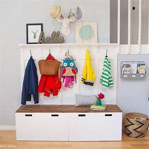 Ikea Hack Garderobe : pin by susan ryan on apartment living pinterest ikea garderoben eingangsbereich and ~ Eleganceandgraceweddings.com Haus und Dekorationen