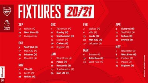2020/21 Premier League fixtures revealed: Liverpool vs ...