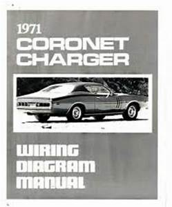 1971 Dodge Charger And Coronet Wiring Diagrams Schematics
