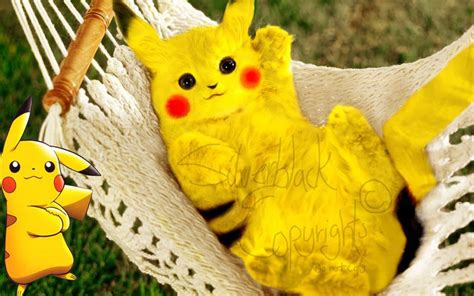Pikachu Real Life By Mythologixwolf On Deviantart