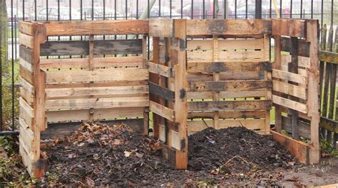 10 compost bins for backyard composting system from wood pallets diy pallet ideas