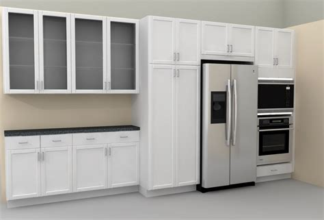 Contemporary Kitchen Cabinets With Glass Doors