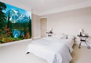 Wall Art Tapete : fototapete papiertapete bergidyll tapete mit alpen und bergsee wall ~ Eleganceandgraceweddings.com Haus und Dekorationen