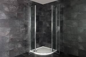 Duschkabine 90x90 Viertelkreis Radius 550 : runddusche viertelkreis duschkabine duschabtrennung radius 55 dusche asymmetrisc ebay ~ Eleganceandgraceweddings.com Haus und Dekorationen
