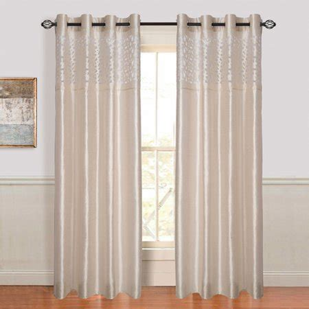 Walmart Drapes And Curtains - somerset home karla laser cut grommet curtain panel