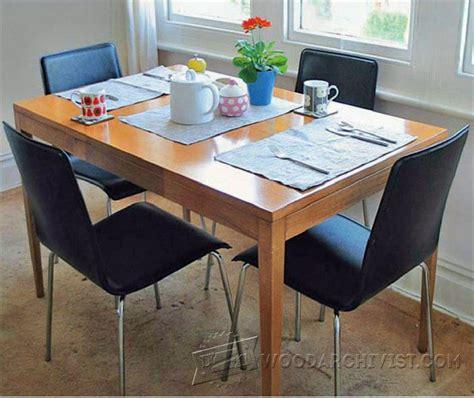 beech wood dining table beech dining table plan woodarchivist 4404