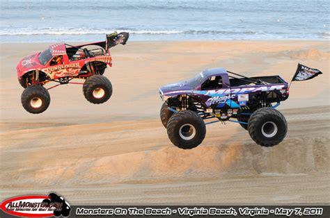 monster truck show hton va virginia beach virginia monsters on the beach may 7