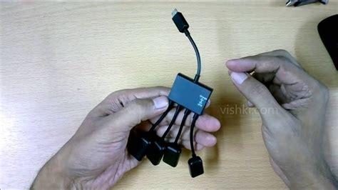 micro usb hub simultaneous charging otg works