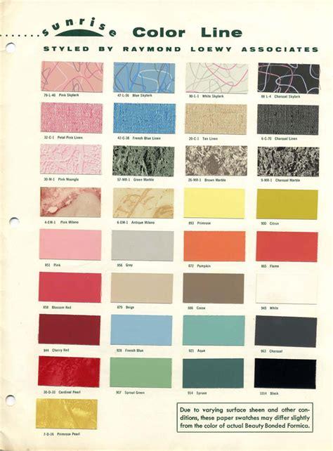 50s Retro Bathroom Decor by Retro Library 1953 Formica Sunrise Collection Brochure