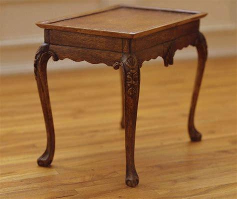 irish george ii carved tea table   scale linda master
