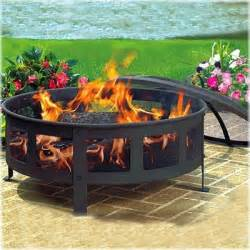 outdoor portable pit patio heater wood burning