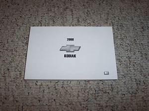 2008 Chevy Kodiak C4500 C5500 C6500 C7500 Owner Operator