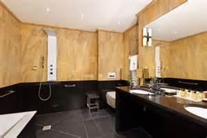 salle de bain hotel luxe