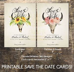 Save the date card printable save the date card wedding card for Printable save the date cards